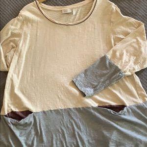 LOGO 100% cotton top XL